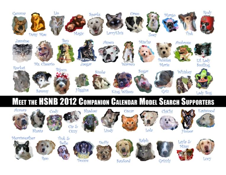 HSNB 2012 Companion Calendar