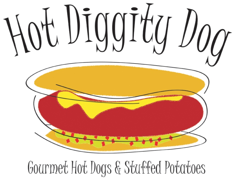 Hot Diggity Dog Logo
