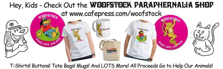 Woofstock Paraphernalia Shop