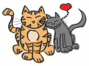 valentine cats e-card1