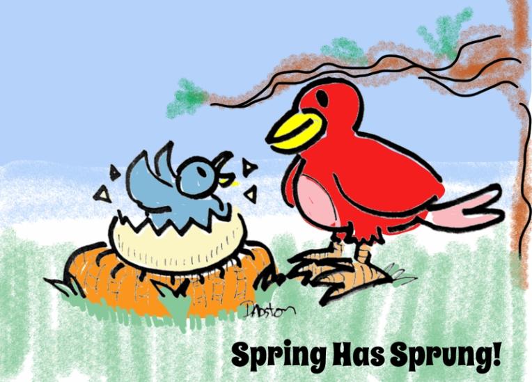 spring has sprung1