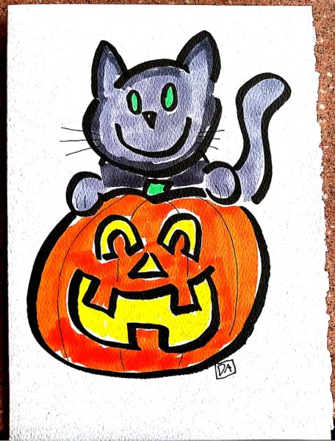 cat and pumpkin2 front