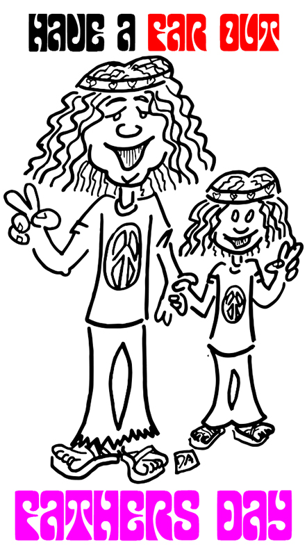 hippie and son1