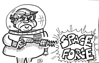 drumpf space force1 web