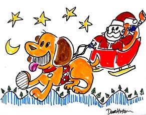 dog and santa1