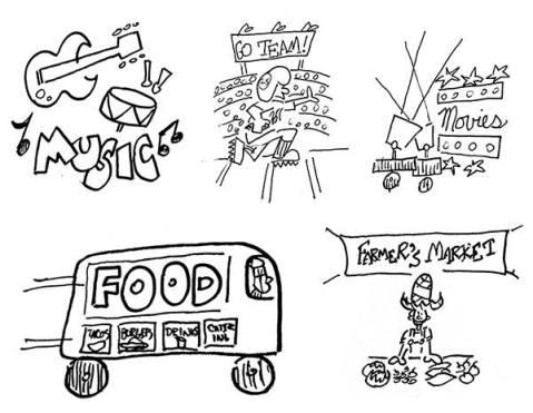 random cartoons 9-5 all