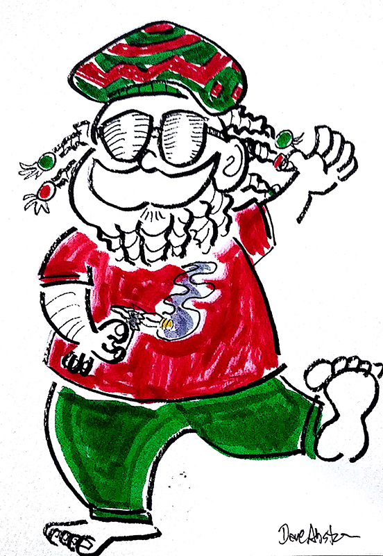 rasta santa color3
