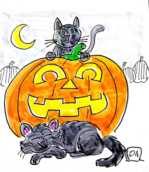 Day 7 - Black Cats1