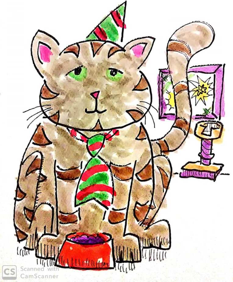 cat new year1
