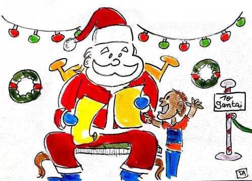 santa and kid1